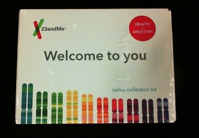 New 23andMe Health and Ancestry Saliva Collection Kit Expires: 05/2021+