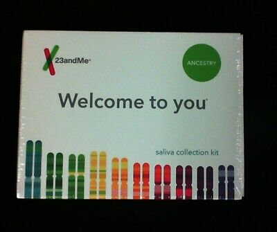New 23andMe DNA Test Ancestry Saliva Collection Kit Expires: 05/2021+
