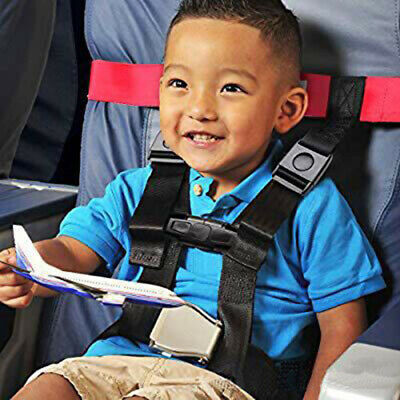 Durable Child Safety Airplane Travel Harness Safety Care Restraint System Belt