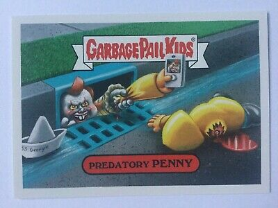 Garbage Pail Kids Sticker Revenge Of Oh The Horror-Ible 2b Conflicting Carpenter