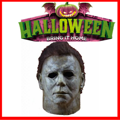 Halloween Latex Horror Michael Myers Mask s Cosplay Full Face