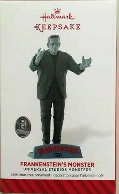 2014 FRANKENSTEIN'S MONSTER ORNAMENT IT'S ALIVE Hallmark Universal Studios