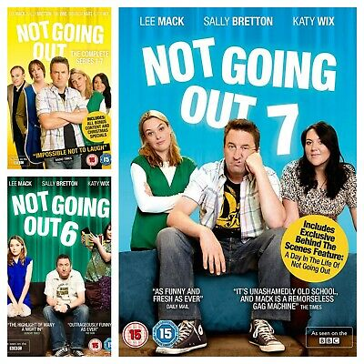Not Going Out DVD Box Set Series 1 2 3 4 5 6 7 Complete Season 1-7 Collections