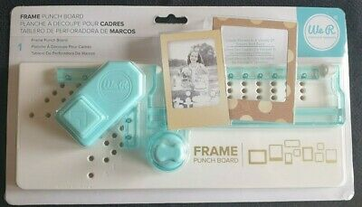 We R Memory Keepers (WRMK) FRAME Punch Board, Brand New