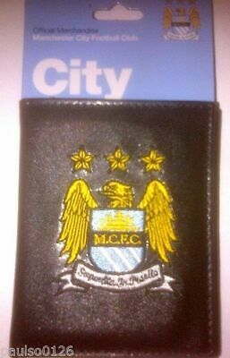 Manchester City Football Club Official Money Wallet with Embroidered  Crest  SC