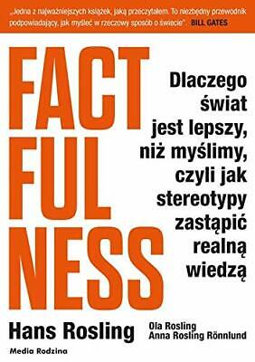 Factfulness by Rosling, Hans 8380084993 The Cheap Fast Free Post