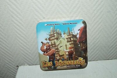 Game Plateau Strategie the Builder Medium Age Bombyx Board Game Full/Complete