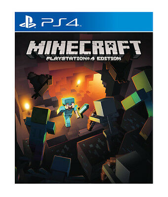 Minecraft (PlayStation 4) -Edition: Standard-New-FreePostage
