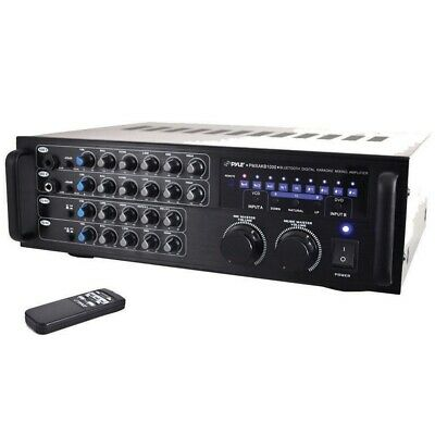 PYLE PMXAKB1000 Pro Digital Bluetooth Karaoke Mixer/amp
