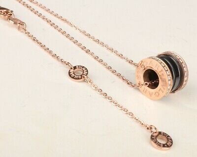 Gold Plating Rose Gold Necklace Clavicle Chain Lady Decoration Fashion Cool Gift
