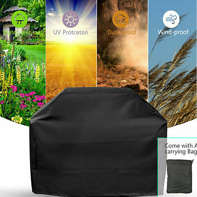 EXTRA LARGE Heavy Duty BBQ Grill Barbecue Cover Garden Outdoor Rain / Dust Proof