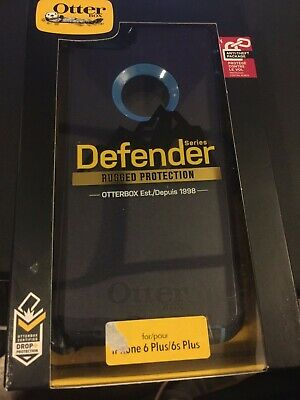 OTTER BOX DEFENDER SERIES FOR IPHONE 6 PLUS /6S PLUS BLUE box slightly worn