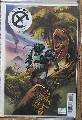 Powers of X #5 1 in 10 Huddleston variant cover Marvel Comics