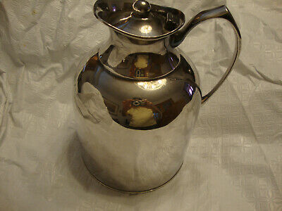 Silverplate Insulated Hot Or Cold Pitcher Marlboro Plate By Morton Parker Canada