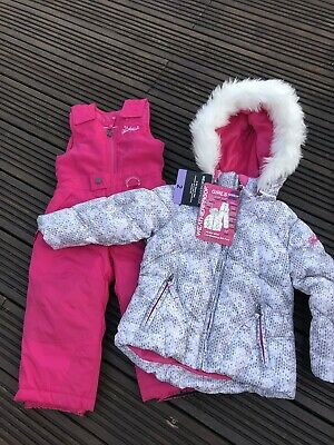 New Girls Snow, Ski Suit, Ski Jacket & Ski Trousers , Age 2,