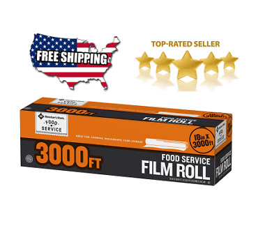 """Member's Mark Foodservice Film (18"""" x 3,000') Free Shipping"""