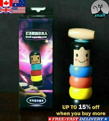 Unbreakable Wooden Man Magic Toy-High Quality HOT Interesting Toy