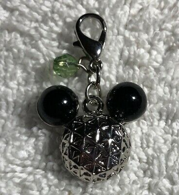 Disney Parks Charmed In The Park Epcot Mickey Mouse Icon Charm