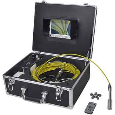 New Pipe Inspection Camera with DVR Control Box 98.4' Wire