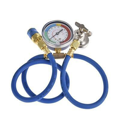 Car Air Conditioning Repair Tool Fluoride Tube Connector Cold Pressure Gauge UK