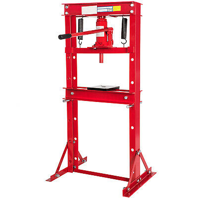 Heavy Duty Hydraulic Workshop Garage Shop Floor Standing Press 6T/12T/20T/30T