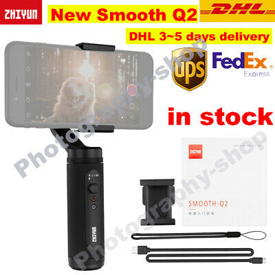New Zhiyun Smooth Q2 Handheld Gimbal Stabilizer Portable for iPhone Smartphone