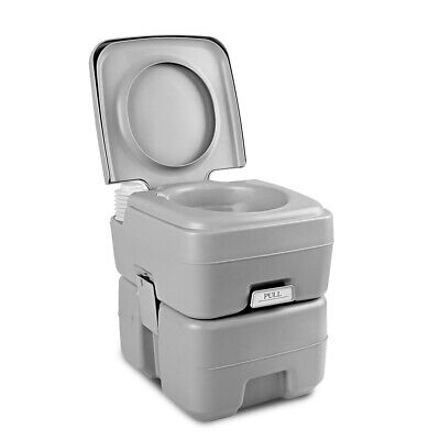 20L Outdoor Portable Toilet Camping Potty Caravan Travel Camp Boating @AU