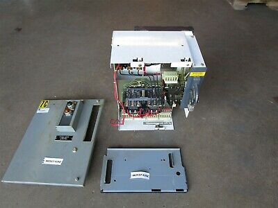 "Lot of 8 Allen Bradley 2100 18"" MCC reversing buckets Sz1 fusible See Desciption"