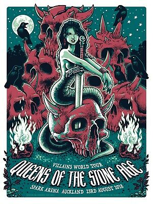 Queens Of The Stone Age 13X19 Concert Poster