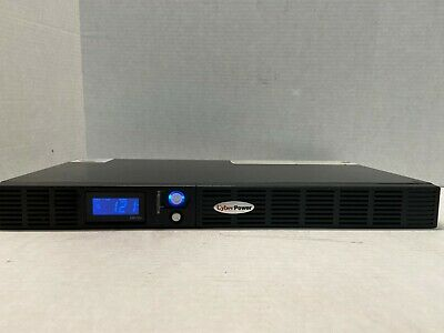 CYBERPOWER 6-outlet 700va 400w 1030-j LCD rackmount ups OR700LCDRM1U