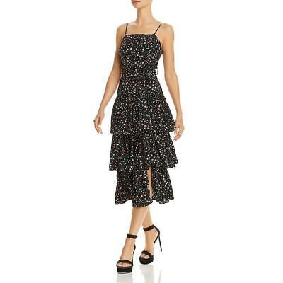 Olivaceous Womens White Spaghetti Straps Special Occasion Dress M BHFO 8881