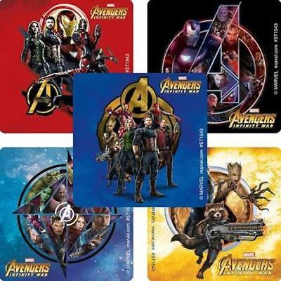 25//50 pcs Avengers End Game Infinity War Birthday Party Candy Bags Favors Treat