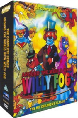 Willy Fog - Around the World: The Complete Collection DVD NEW