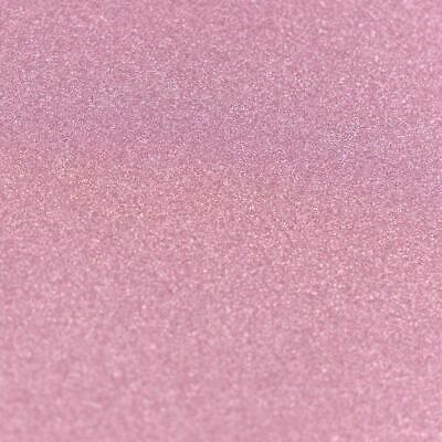 Couture Creations A4 Glitter Card Baby Pink 10pk  250gsm