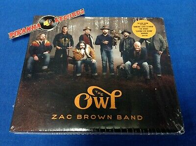 Zac Brown Band The Owl Country CD NEW SEALED 2019 Piranha Records