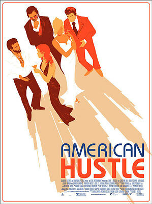 Authentic Mondo American Hustle Matt Taylor Limited Numbered Poster