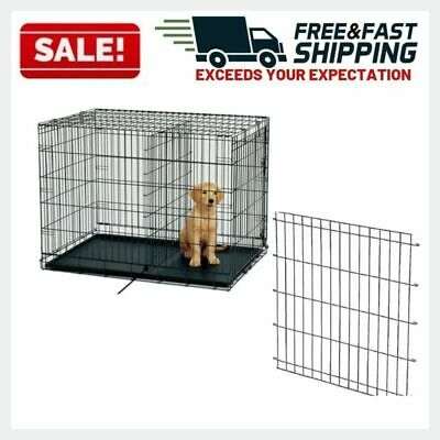 Dog Crate Divider Panel Replacement Metal Pet Cage MidWest Home Portable 54 Inch