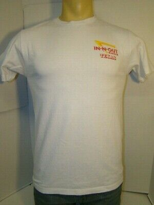 IN-N-OUT BURGER Texas Men's Official Medium White T-Shirt