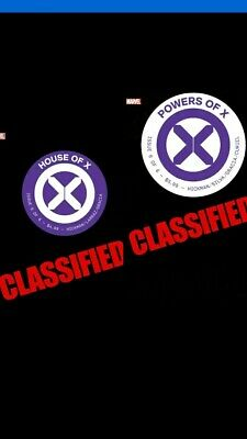 House Of X 6 & Powers Of X 6 Foreshadow Variant Set 2019 Pre-Order 10/9