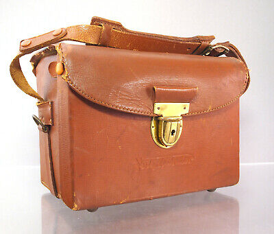 Original Voigtländer Leder Kameratasche Leather camera bag - 32678