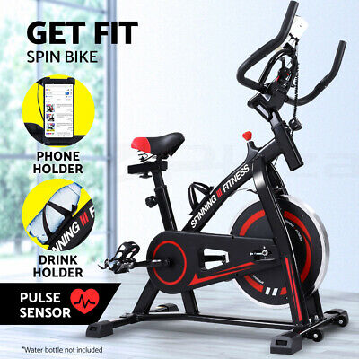 【20%OFF】Spin Bike Exercise Flywheel Fitness Commercial Home Workout Gym Holder