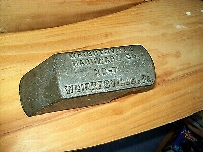 Antique Wrightsville Cast Iron No-7 CLASSIC Ice Shaver with Blade PA