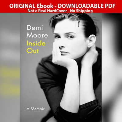 Inside Out A Memoir by Demi Moore Fast Delivery