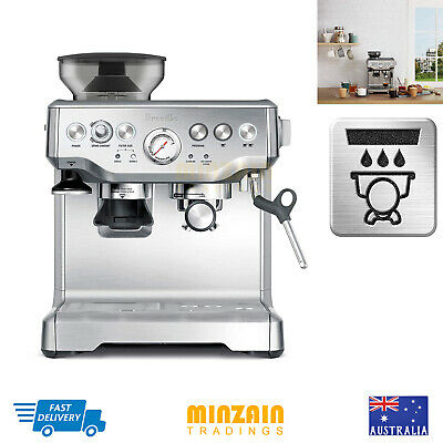 Breville the Barista Express Espresso Coffee Machine Stainless Steel Qas-Direct