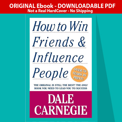 How to Win Friends and Influence People by Dale Carnegie P.D.F ⭐Fast DeIivery⭐