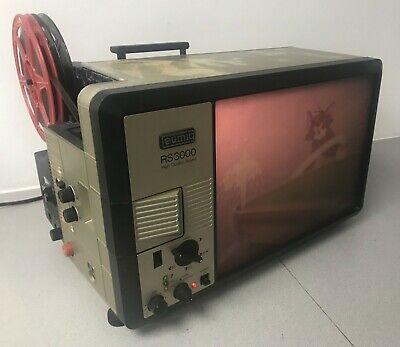 Eumig RS 3000 High Quality Sound SUPER 8 CINE PROJECTOR VIEWER