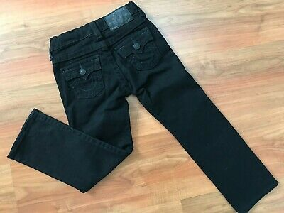 Boys AUTHENTIC Black SLIM TRUE RELIGION JEANS (age4) *GREAT COND*