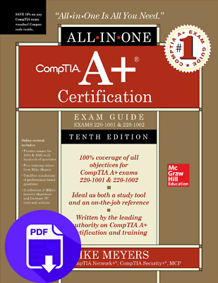 CompTIA A+ Certification All in One Exam Guide 10 Edition 🔥 P.D.F EMAlLED