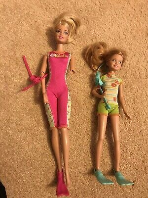 Barbie And Stacie Scuba Doll