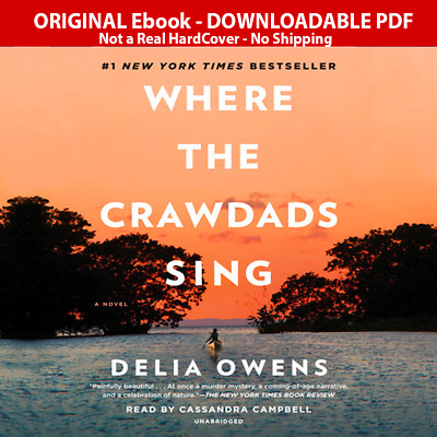 Where the Crawdads Sing Delia Owens P.D.F Kindle !